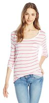 U.S. Polo Assn. Juniors Striped Long Sleeve Pocket T-Shirt