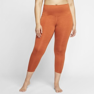 Nike Women's 7/8 Ruched Tights (Plus Size Yoga