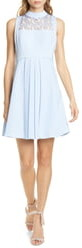 Ted Baker Abequa Lace Yoke Skater Dress