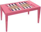 The Well Appointed House Oomph Backgammon Coffee Table in Variety Colors