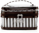 Henri Bendel Brown & White 3 Piece Travel Set