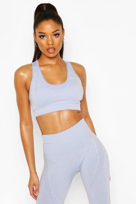 boohoo Fit Removable Padding Seamless Sports Bra