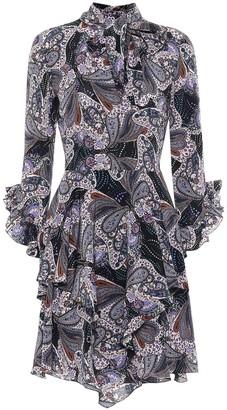 Etro Paisley silk dress