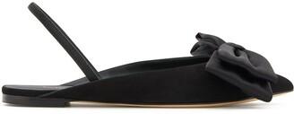 Giuseppe Zanotti Bow Slingback Ballerina Shoes