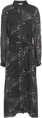 Hofmann Copenhagen Alicia Printed Georgette Midi Dress