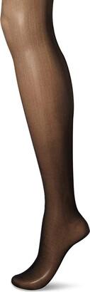 Secret Silky Women's Medium Support Leg Control Top Pantyhose 1 Pair