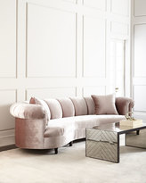 Haute House Audrey Channel-Tufted Sofa
