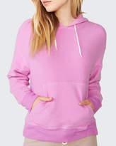 Monrow Reversed College Pullover Hoodie