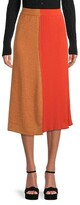 Thumbnail for your product : M Missoni Ribbed Shimmer A-Line Skirt