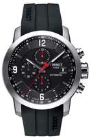 Tissot Men's Prc200 Automatic Chronograph Silicone Strap Watch, 43Mm