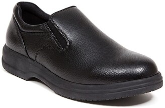 Deer Stags Manager Faux Leather Slip-On - Wide Width Available