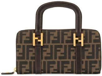 Fendi Pre Owned Zucca pattern tote