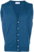 John Smedley classic cardigan vest