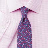 Charles Tyrwhitt Extra slim fit non-iron Windsor check pink shirt