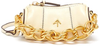 MANU Atelier Micro cylinder thick chain leather shoulder bag