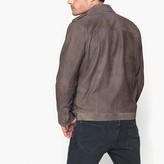 Pepe Jeans Mid-Season Short Leather Bomber Jacket