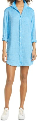 Frank And Eileen Mary Long Sleeve Chambray Shirtdress