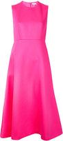 DELPOZO flare and fit dress - women - Viscose - 36