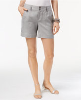 INC International Concepts Linen Shorts, Created for Macy's