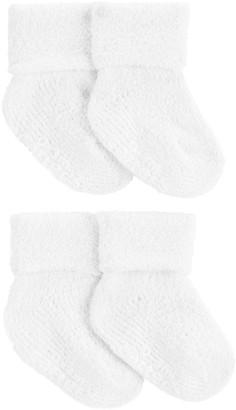 Carter's Baby 4 Pack Chenille Socks