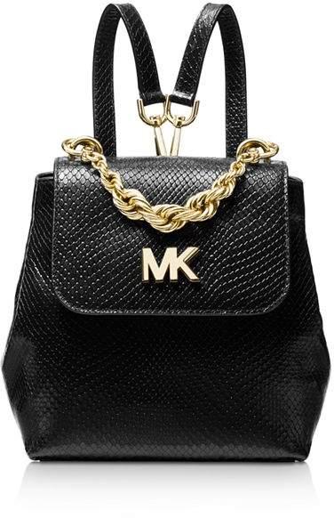 dd444480a5a7 Black Handbag With Gold Chain Strap - ShopStyle