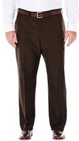 Haggar BIG & TALL Repreve Stria Dress Pants - Classic Fit, Flat Front, Expandable Waist