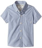 Quiksilver Everyday Wilsden Short Sleeve Button Up Shirt Boy's T Shirt