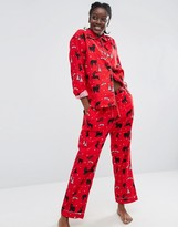 Monki Holidays Pajama Set