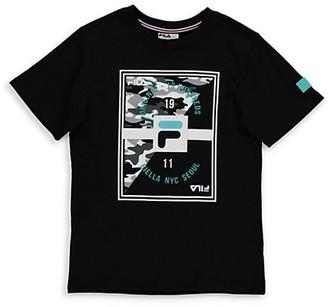 Fila Boy's Graphic Logo T-Shirt