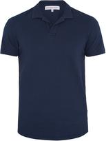 Orlebar Brown Massey Waffle cotton polo shirt
