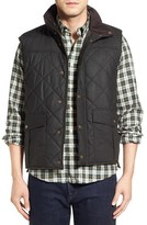 Barbour Men's Boxley Waxed Quilted Vest