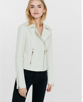 Express white (Minus the) leather moto jacket