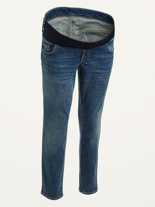 Old Navy Maternity Front Low-Panel O.G. Straight Jeans