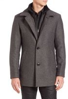 HUGO BOSS Wool Blend Jacket
