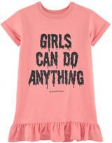 Little Eleven Paris Sweatshirt dress with a print