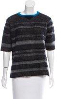 Aquilano Rimondi Aquilano.Rimondi Striped Virgin Wool-Blend Sweater w/ Tags