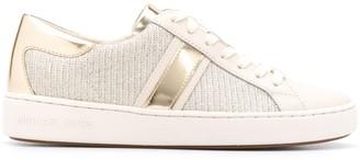 MICHAEL Michael Kors Metallic Panel Low Top Sneakers
