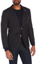 Tailorbyrd Charcoal Wool Blazer