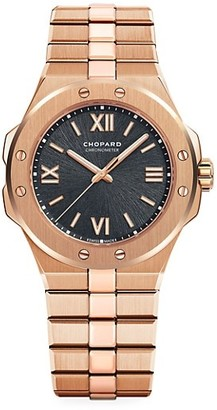Chopard Alpine Eagle 18K Rose Gold Bracelet Watch