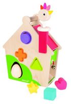 Janod Hen Activity House Learning Toys
