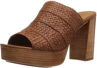 Frye Women's Katie Woven Platform Slide Sandal