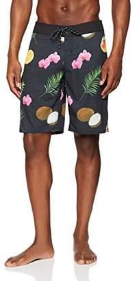 Trunks Reef_Apparel Men's Reef Tarpon Short, Black Bla, (Size: 32)