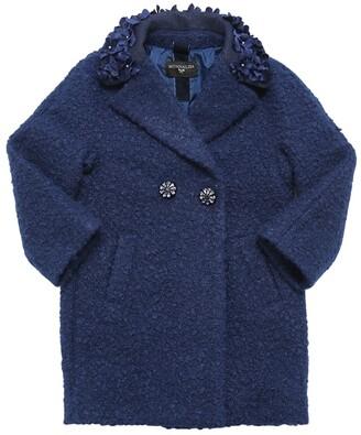 MonnaLisa Embellished Boucle Coat
