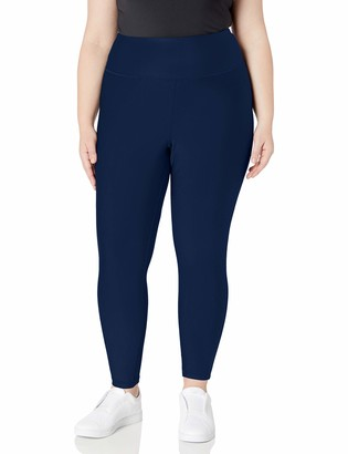 Amazon Essentials Plus Size Performance High-rise 7/8 Legging Charcoal Heather 6x