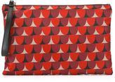 RED Valentino geometric print clutch
