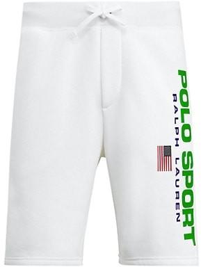 Polo Ralph Lauren Neon Fleece Drawstring Shorts