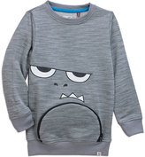 Sovereign Code Gray Face Zip It Sweatshirt - Infant & Boys