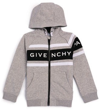 Givenchy Kids Logo Stripe Hoodie