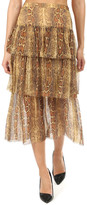 Zimmermann Ninety-Six Fluted Skirt
