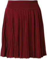 Balmain pleated mini skirt